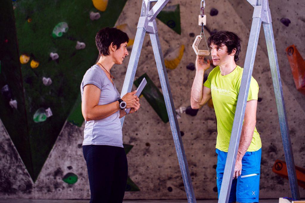 Studio scientifico: Allenamento per l'arrampicata